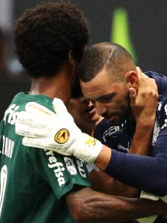 Defensa y Justicia, campeón de la Recopa ante Palmeiras de Brasil. Imagen del equipo paulista.