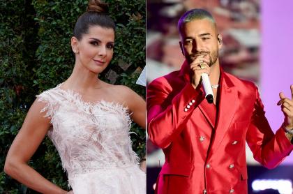 Carolina Cruz, en los Grammy, y Maluma, en Rockin 'Eve, ilustran nota sobre coincidencia que hay entre ellos; tenían el mismo negocio.