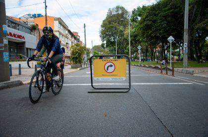 Cilovía en Bogotá, que quedó suspendida durante cuarentena