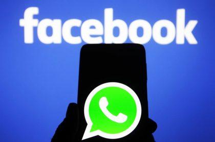 Logos de WhatsApp y Facebook, ilustran nota de WhatsApp: nueva política de privacidad relacionada con Facebook sería ilegal