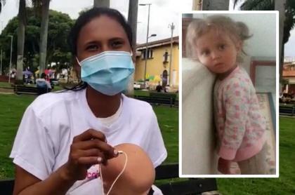Sara Sofía Galván: tía viajó a Bucaramanga a seguir pistas sobre su sobrina