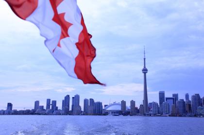 Foto de Toronto ilustra nota sobre requisitos y aspectos básicos para tramitar una visa a este país