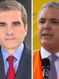 Félix de Bedout y Mabel Lara, periodistas que criticaron la reforma tributaria