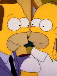 Herb Powell es el hermano de Homero Simpson.