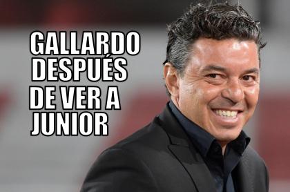 Meme para Junior por su clasificación en Copa Libertadores.