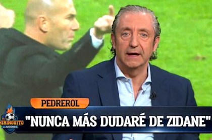 Josep Pedrerol, presentador de 'El Chiringuito'.