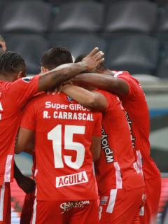 Foto del América ilustra nota sobre América de Cali vs. Independiente Medellín