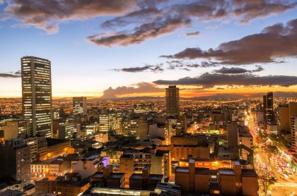 Imagen que ilustra los cortes de luz en Bogotá