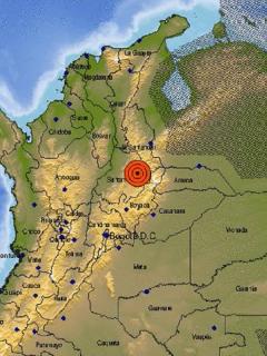 La madrugada de este 17 de abril se presentó un sismo en el oriente colombiano.