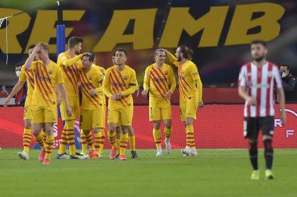 Barcelona vs Athletic Club hoy: campeón de la Copa del Rey.