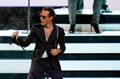 Marc Anthony, que se disculpó por fallas en su concierto