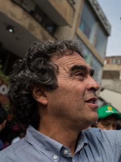Sergio Fajardo, candidato presidencial que criticó reforma tributaria e hizo propuestas