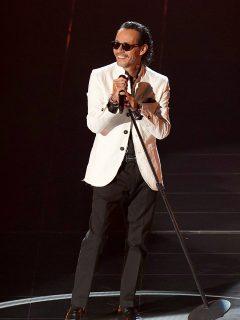 Foto de Marc Anthony, a propósito de cuánto gana por concierto