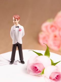 Pastel de bodas, ilustra nota de Hombre que se casó 4 veces y se divorció 3 de la misma mujer para obtener vacaciones