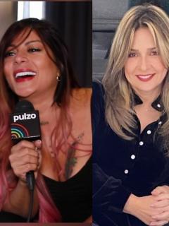 Foto de Marbelle, Vicky Dávila y Aura Cristina Geithner, a propósito de enfrentamiento musical