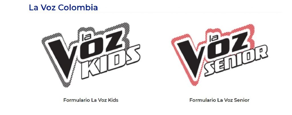 'La voz kids' y 'La voz senior'
