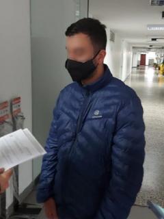 Paul Naranjo, principal sospechoso de la muerte de Ana María Castro.