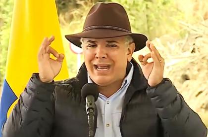 Iván Duque ratifica realización de la Copa América en Colombia. Imagen de referencia del presidente de Colombia.