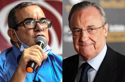 Partido Comunes, de los ex-Farc, critica Superliga de Florentino Pérez. Fotomontaje: Pulzo.