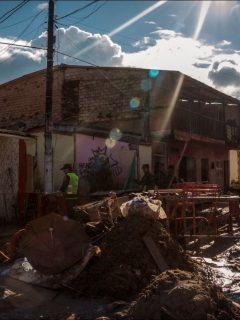 Imagen de la tragedia en Mocoa, luego de un deslizamiento en agosto de 2018, en donde familias esperan por la reconstrucción