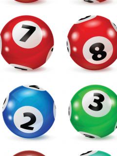 Imagen de balotas de colores, a propósito de resultados de loterías Cundinamarca y Tolima