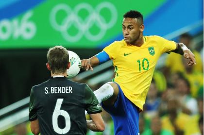 Brasil fue el último campeón olímpico masculino en fútbol.