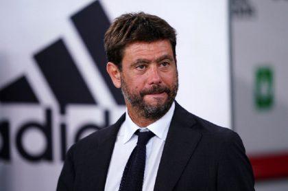 Andrea Agnelli, presidente de Juventus de Turín, parece darse por vencido tras el retiro de los clubes ingleses.