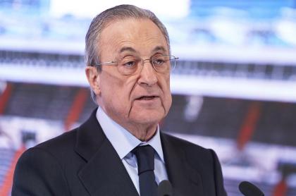 Florentino Pérez, presidente de la Superliga de Europa, torneo que está prácticamente muerto luego de que casi todos sus equipos lo abandonaran