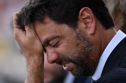 Imagen del presidente de la Juventus, Andrea Agnelli, ilustra artículo Superliga de Europa: acción de la Juventus se desploma en bolsa de Milán