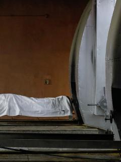 Médicos en Uruguay piden tomar conciencia ante duros efectos del coronavirus. (Imagen de referencia de un crematorio en India).