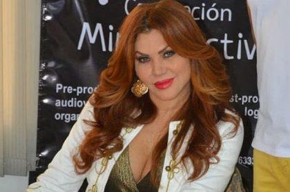 Lady Noriega, actriz colombiana que salió de UCI.