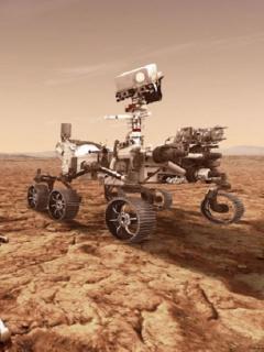 La sonda Perseverance consiguió otro hecho inédito en la superficie marciana este miércoles 21 de abril.