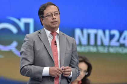Gustavo Petro, que tiene mayor intención de voto en encuesta de Invamer