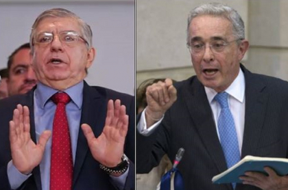 César Gaviria y Álvaro Uribe, expresidentes de Colombia, se reunieron para hablar de la reforma tributaria
