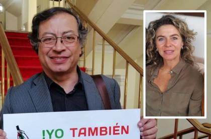 Margarita Rosa de Francisco pide no confiar en encuesta que ganó Gustavo Petro