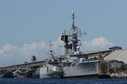 Imagen que ilustra la búsqueda de un submarino en Indonesia.