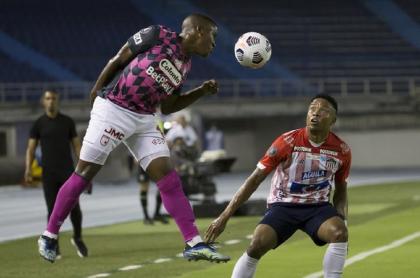 Junior y Santa Fe empataron en la Copa Libertadores.
