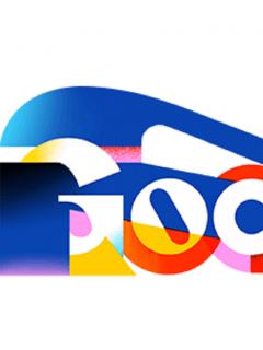 Google celebra el día del idioma con un doodle.