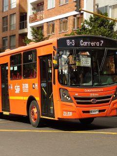SITP complementario de Bogotá ilustra nota de conductor de un bus de esos que atendió un parto en el vehículo