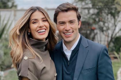 Gabriela Tafur y Esteban  Santos celebran primer año de novios: fotos y mensajes.
