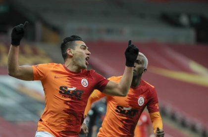 Foto de Falcao ilustra nota sobre cuáles son los negocios del jugador del colombiano de Galatasaray