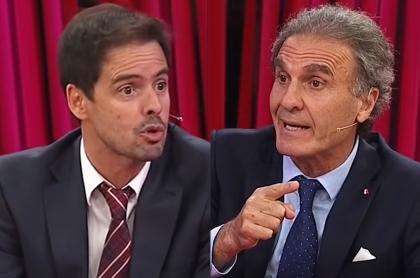 Óscar Ruggeri se burla de Mariano Closs por haber visto Junior-Santa Fe. Fotomontaje: Pulzo.