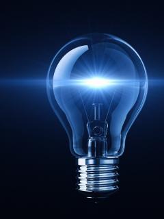 Imagen que ilustra los cortes de luz en Bogotá.