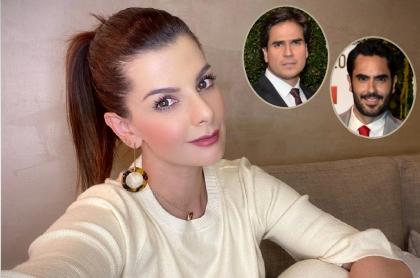 Carolina Cruz, Daniel Arenas y Lincoln Palomeque, a propósito de que la presentadora aclaró si cuando terminó con Lincoln volvió con su ex (fotomontaje Pulzo).