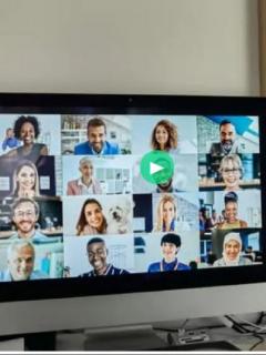 Video viral donde un profesor colombiano se le olvidó apagar la cámara del computador durante clase virtual por Zoom mientras tenía relaciones