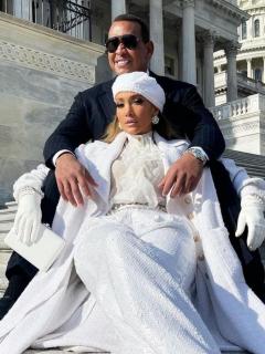 Jennifer Lopez y Alex Rodriguez, en el Capitolio en EE. UU., pillados cenando en Los Ángeles