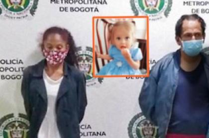 Nilson Díaz y Carolina, capturados por la desaparición de Sara Sofía Galván
