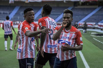 Goles, resultado y mejores momentos de los cuartos de final entre Junior de Barranquilla y Santa Fe.