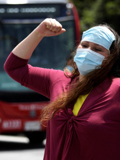 Qué se puede hacer en Bogotá con las medidas de alerta roja y toque de queda. Imagen de referencia de la ciudad.
