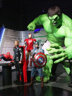 Foto de superhéroes ilustra nota sobre cuál es el más taquillero
